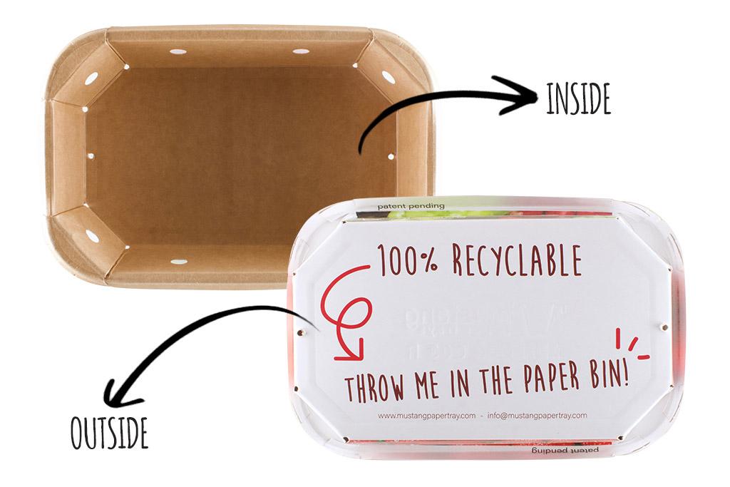 Good reasons Mustang Paper Tray